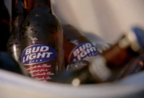 "Bud Light ""little surprise"""